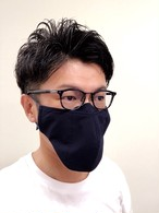 【LLサイズ】メガネマスク ネイビー