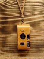 ヌメ革「写ルンです」カメラケースⅡ型(イニシャル刻印無料)