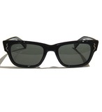 "Shady Spex ""The Subterranean Homesick"" sunglasses, Shiny Black w/Polarized G-15 Lens"