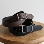 STILL BY HAND  【 mens 】leather belt