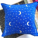星と月クッションカバー