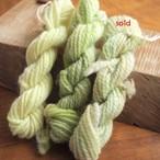 【絲ツム】手染め手紡ぎの刺繍糸