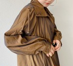 (PAL) brown aurora coat with liner
