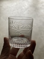 h collection SEMICRYSTAL SHOT GLASS(TIARA)