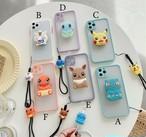 グリップ付き Monster iphone case