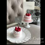 お子様と楽しいおうち時間(苺のミニケーキ2個作れます。動画レッスン&キット付き)送料無料、税込