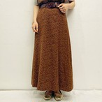 (LOOK) flower long skirt