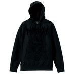 DEATH MARRION パーカー~Pullover Hoodie (Black×Black) 限定