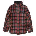 NAPA BY MARTINE ROSE / A-ACHO JKT / CHECK 37 BROWN