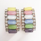 colorful rhinestone earring[e-981]