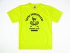 TUTC DryTシャツ 蛍光イエローxブラック TS-001