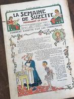 イラストが可愛い!フランスの少女雑誌 LA SEMAINE DE SUZETTE(18 Mars 1937)
