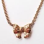 """""""NINA RICCI"""" bow necklace[n-99]"""