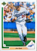 MLBカード 91UPPERDECK Jim Gott #690 DODGERS