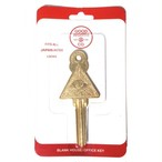 Good Worth (グッドワース) SEEING EYE BLANK HOUSE/OFFICE KEY