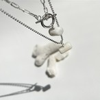 White Coral necklace ft.Yukalani Collection / silver