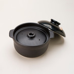 NEWマスタークック3合炊飯用土鍋 ブラック