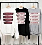 ノープレMTM ★UNISEX MTM スウェット トレーナー 韓国ファッション