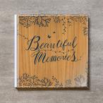 Tree's Board(Light brown)-FAMILY_A4スクエア_6ページ/6カット_クラシックアルバム(アクリルカバー)