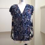 【RehersalL】aloha no sleeve blouse(E) /【リハーズオール】アロハノースリーブブラウス(E)
