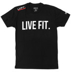 LIVE FIT Original Tee black