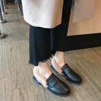 【shoes】フラットシューズヨーロピアン風ビロード