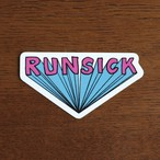 RUNSICK STICKER