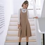 【dress】スウィート日系チェック柄キャンパスワンピース 23035403