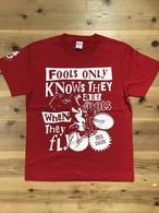 CROWD35ツアーTシャツ・限定カラー・赤