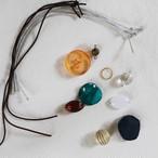 北欧等のヴィンテージボタンのおしゃれヘアゴムキット(3~4セット作れます)