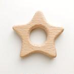 【ウッドモチーフ】スター(星) | おしゃれな歯固めジュエリー linolino - 町田で ワークショップも開催中