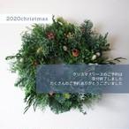 【再販】受注製作:グリーンベースのクリスマスリースL