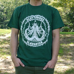 Secreting Coffin T-shirt Green