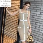 No.896 韓国ワンピース きれいめワンピース 大人可愛いワンピース タイトワンピース