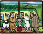 「ネコ窓」マウスパッド
