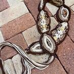 【@nao******様専用】wood beads rope belt