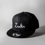 Snap Back Cap - BLACK