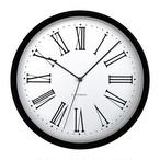 KATOMOKU muku round wall clock 5 km-58BRC 電波時計
