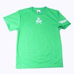 ビッグスカルゲームシャツ ブライトグリーン GS-001 限定商品