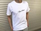 ThreeArrows刺繍メッセージTシャツ(white)