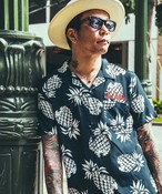 CRIMIE(クライミー) / CR01-01K3-SH08 / ALOHA PINEAPPLE SHIRT