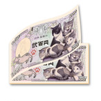 【11/18発売】子猫紙幣 フルカラーメモ帳
