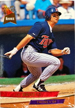 MLBカード 93FLEER J.T.Bruett #229 TWINS