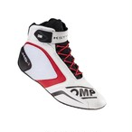 IC/815120 KS-1 SHOES WHITE/BLACK/RED