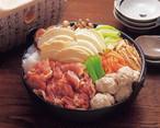 青森県 シャモロックせんべい汁鍋
