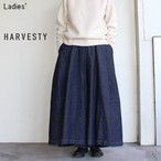 HARVESTY デニムカルメンキュロット Denim Carmen Culottes  A21803 (ONE WASH)