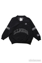【SILLENT FROM ME】VEXED -Nylon Pullover- BLK