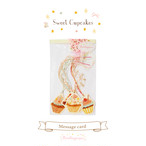Message card set / Cupcake