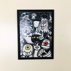 """""""怪傑お化け大集合"""" Diskah poster series"""