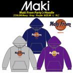 【Maki】受注生産パーカー